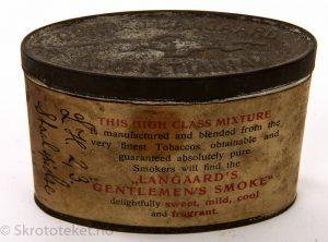 Langaard's Gentlemen's Smoke – Den lille ovale boksen