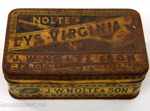 Nolte's LYS VIRGINIA No. –  Pipetobakk