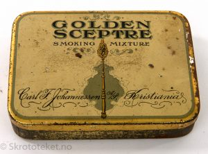Golde Sceptre – Smoking Mixture – Carl F. Johannessen A/S, Kristiania
