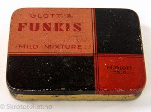 Glott's Funkis – Mild Mixture – M. Glotts Tobaksfabrik, Oslo
