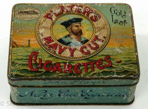PLAYER'S – Navy Cut Cigarettes – John Player – Gold Leaf – Trade Mark, Nottingham Castle Registered