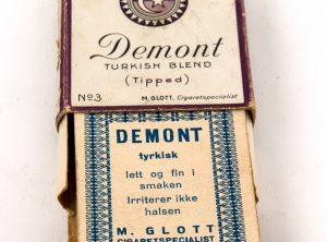 Komplett samling med 40 stk firkort fra M. Glott (1930-tallet)