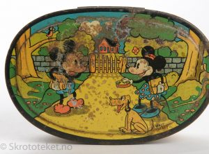 Sætre Kjeks, Lunsjboks – Walt Disney, Mikke & Minni mus og Pluto