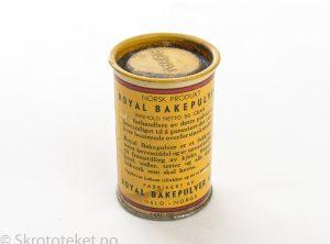 Royal, Bakepulver (1960-tallet)