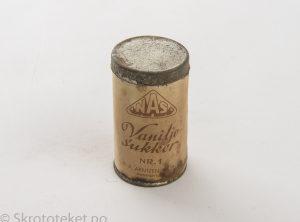 Vaniljesukker – N. A. Arntzen & Sønn, Brønnøysund