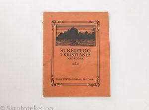 Streiftog i Kristiania med Kodak af H. H. V. (1911)