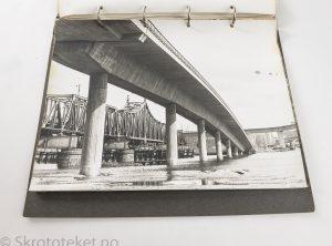 Samling med fotografier fra Drammen og Fredrikstad på 1970-tallet