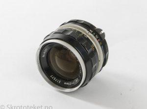 Nikon 35mm f2.8 Nikkor-S Auto (1972) – Serienr.: 317577