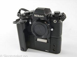 Nikon F3 med MD-4 motor (1980) (Serienr: 1273473)