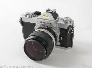 Nikon Nikkormat FT2 (1975-1977) – Serienr.: FT2 5222308