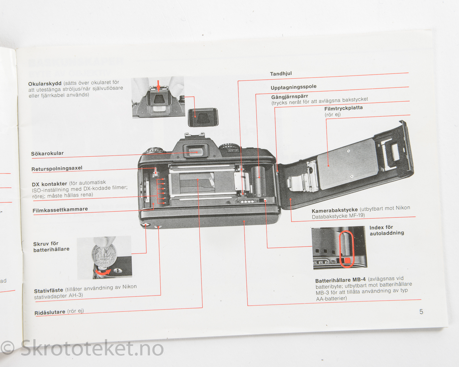 nikon f instruction manual