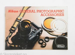 Nikon General Photographic Accessories – Brosjyre