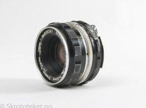 Nikon Nikkor-H Auto 50mm f2 (Non-Ai) – Serienr.: 855261