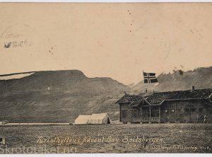 Turisthytta i Advent Bay – Spitsbergen, Svalbard (1916)