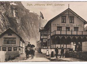 Viking Vang Hotel & Cafe ved Gudvangen i Sogn (1907)