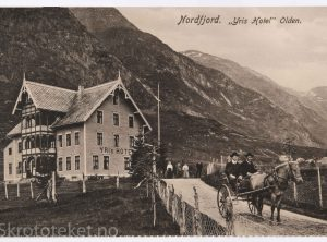 "Nordfjord ""Yris Hotel"" Olden (1910)"