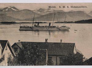 S. M. S Hoenzollern II i Molde (1910)