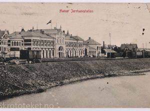 Hamar Jernbanestasjon (1910)