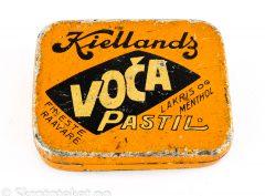 VOCA Lakris og Menthol Pastiller – Kiellands (1910-tallet)