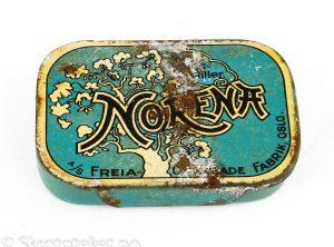 NORENA – Sterke lakris pastiller (med skyvelokk) – A/S Freia Chocolade fabrik, Oslo (2)
