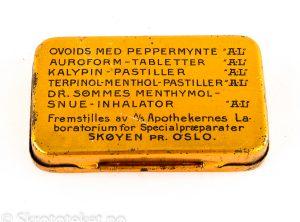 OVOIDS med Menthol – Apothekernes Laboratorium for Specialpræparater A/S – Skøyen Pr. Oslo