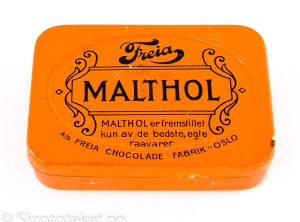 Malthol pastiller – AS Freia Chocolade Fabrik Oslo (2)