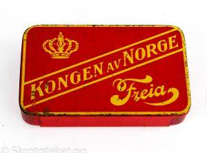 Kongen av Norge, Freia (med skyvelokk)
