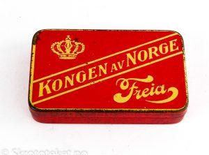 Kongen av Norge, Freia (med hengslet lokk)