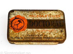 DOCTORAL Halspastiller – A/S Freia Chocolade fabrik, Oslo