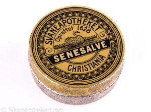 SENESALVE fra Svaneapotheket i Christiania (1890-tallet)