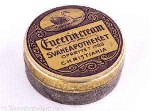 Fucerin-Cream fra Svaneapotheket i Christiania (1890-tallet)