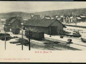 Mysen togstasjon – Parti fra Mysen III