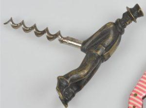 Vinjekk med skorsteinsfeier i bronse – Hagenauer, Richard Rohac